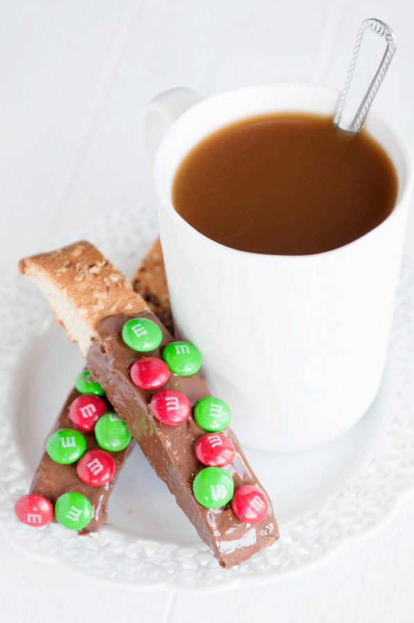 Deck the Halls Biscotti