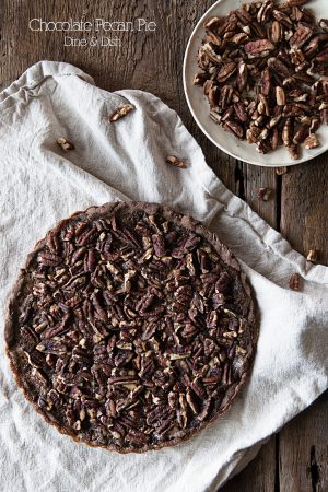 Don't Forget the Chocolate {Recipe: Double Chocolate Pecan Pie}
