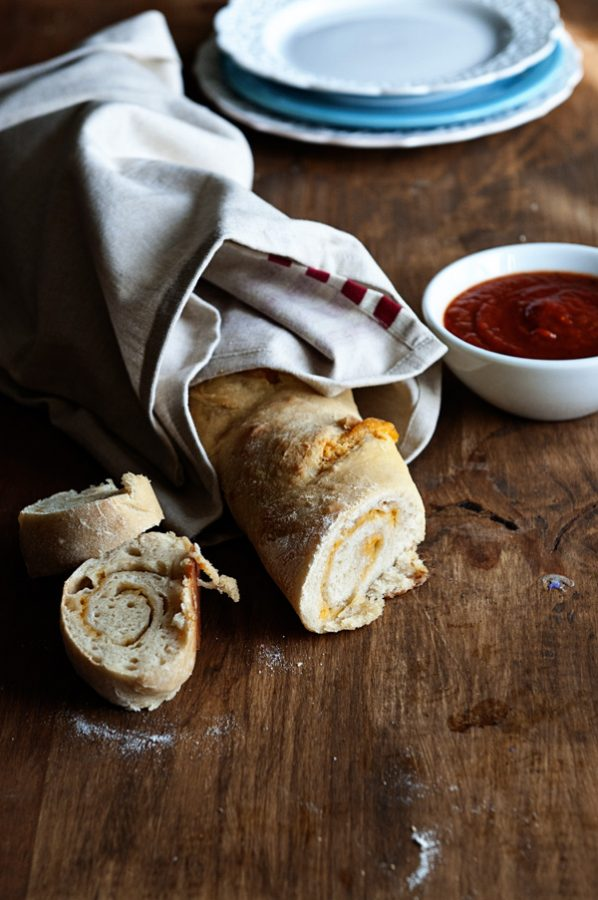 Italian Cheese Bread Recipe from www.dineanddish.net