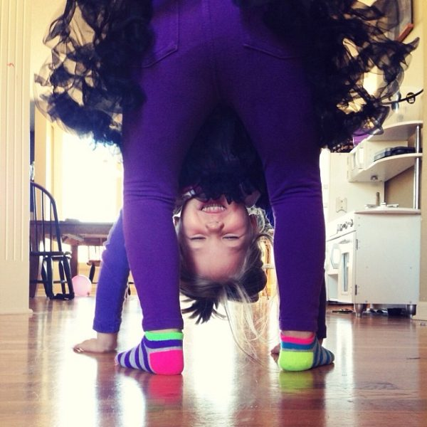 Leah Upside Down