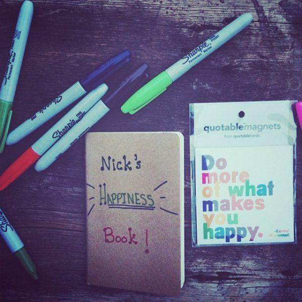 November 19th Happiness Book
