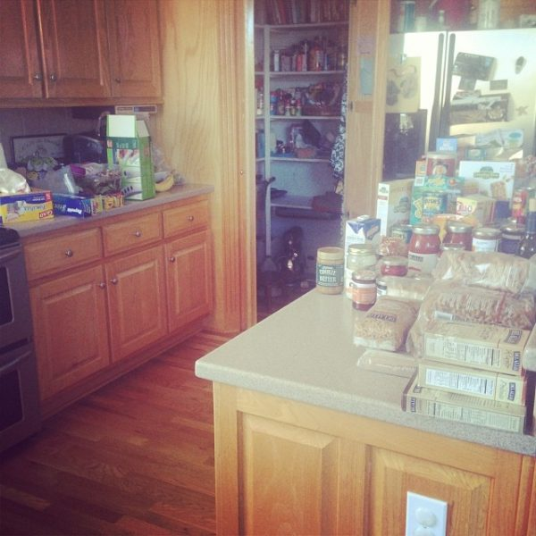 Pantry Cleaning