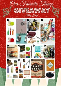 Food Bloggers Favorite Things Giveaway!