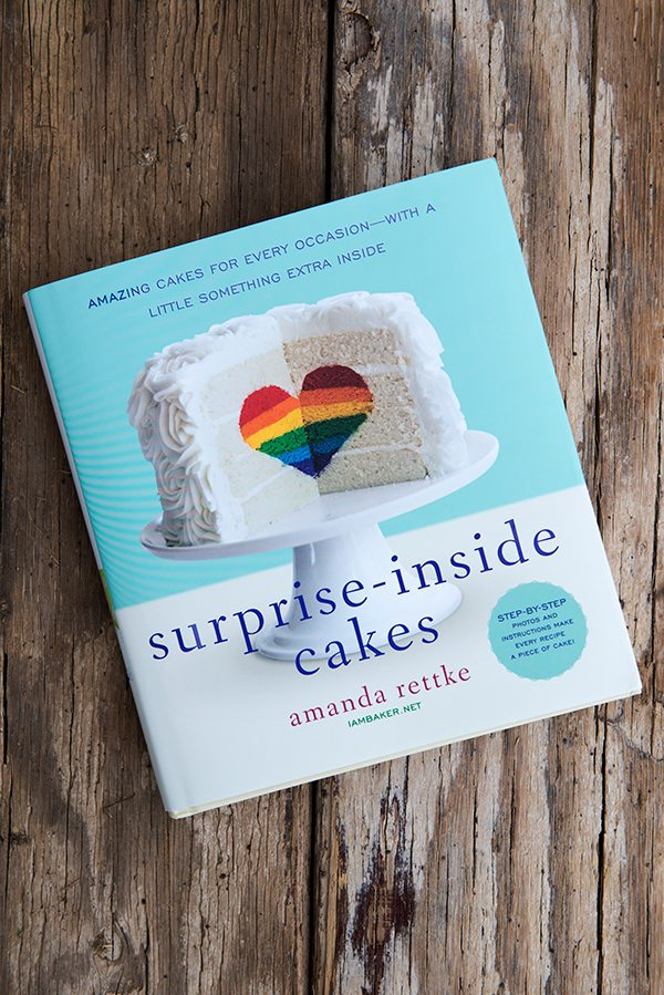 Amanda Rettke Surprise-Inside Cakes Cookbook Giveaway dineanddish.net