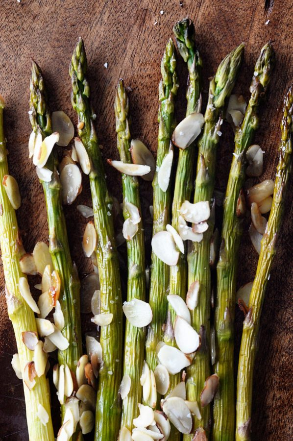 Asian Toasted Sesame Roasted Asparagus