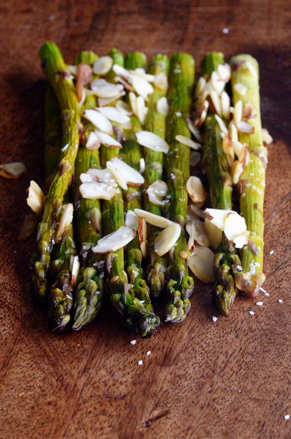 Asian Toasted Sesame Asparagus dineanddish.net