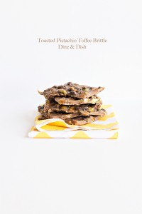 Through the Trouble {Recipe: Toasted Pistachio Toffee Brittle}