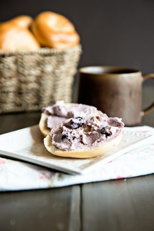 PHILADELPHIA Cream Cheese Spread in Blueberry