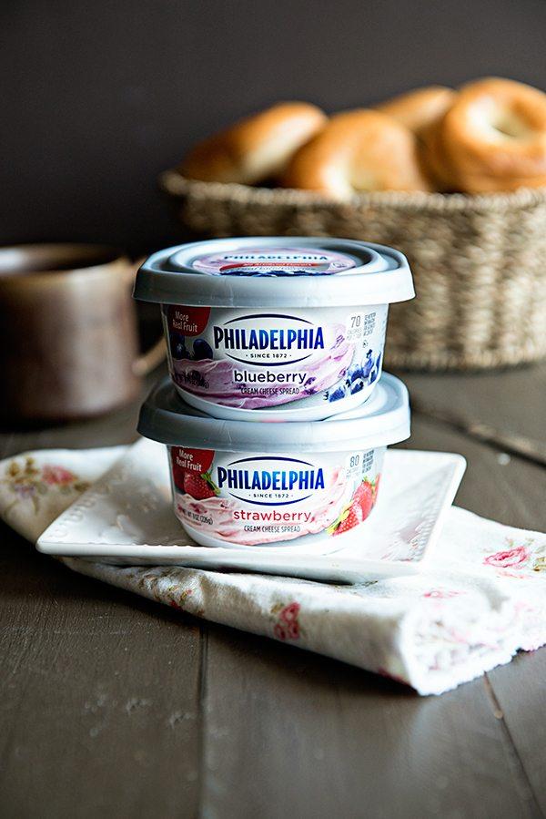 PHILADELPHIA Cream Cheese Spread in Blueberry