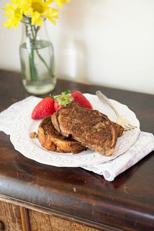Sharing Mother's Day {Recipe: Double Chocolate French Toast}