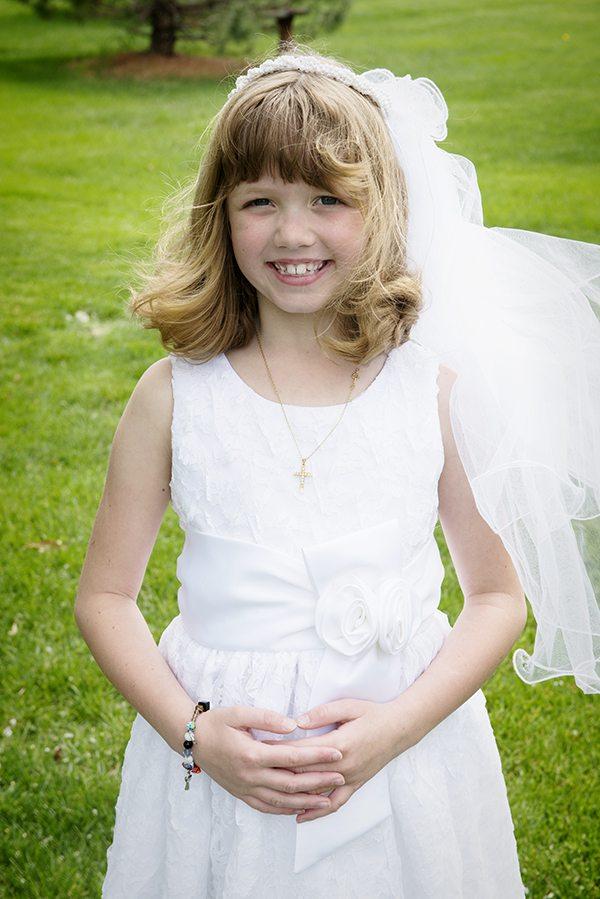 Ella First communion
