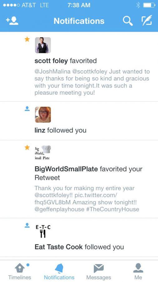Scott Foley Favorited Tweet