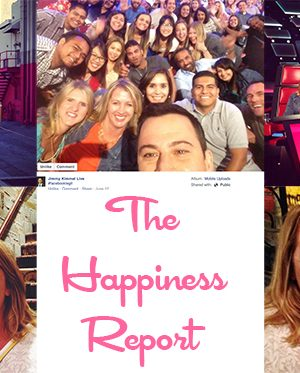 The Happiness Report #29 Celebrity Edition