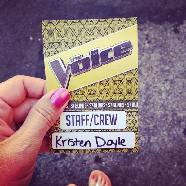 the voice badge