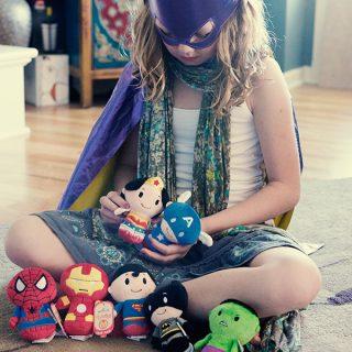 Hallmark Superheroes Plush Dolls
