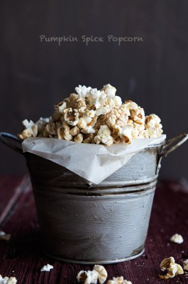 Pumpkin Pie Spice Popcorn Recipe