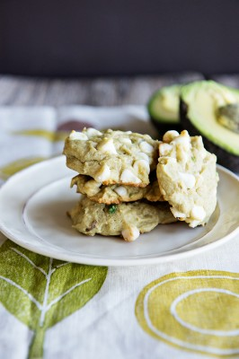 Avocado White Chocolate Chip Cookies Recipe