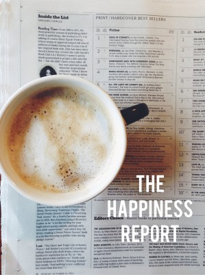 Happiness Report #30 – Thoughts on Phoning it In