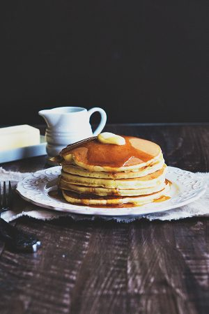 Biscoff Pancakes {Weekly Menu Plan}