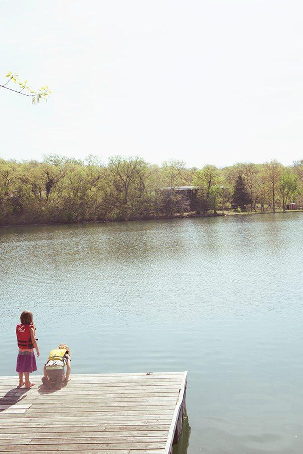 Girls-Lake