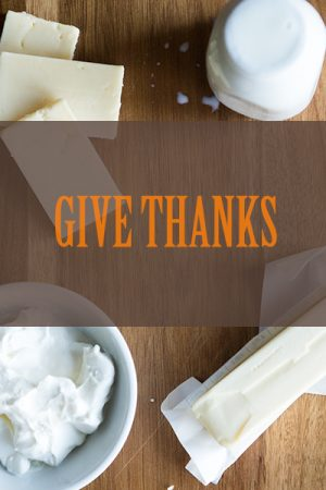 Give Thanks to Dairy Farmers