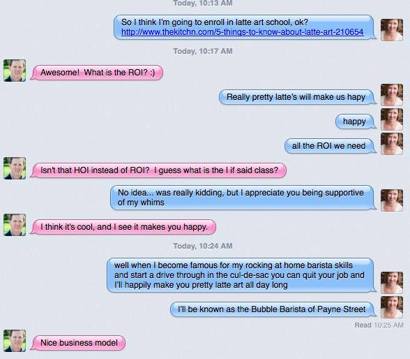 Husband Text