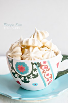 Meringue Kisses Recipe {Weekly Menu Plan}