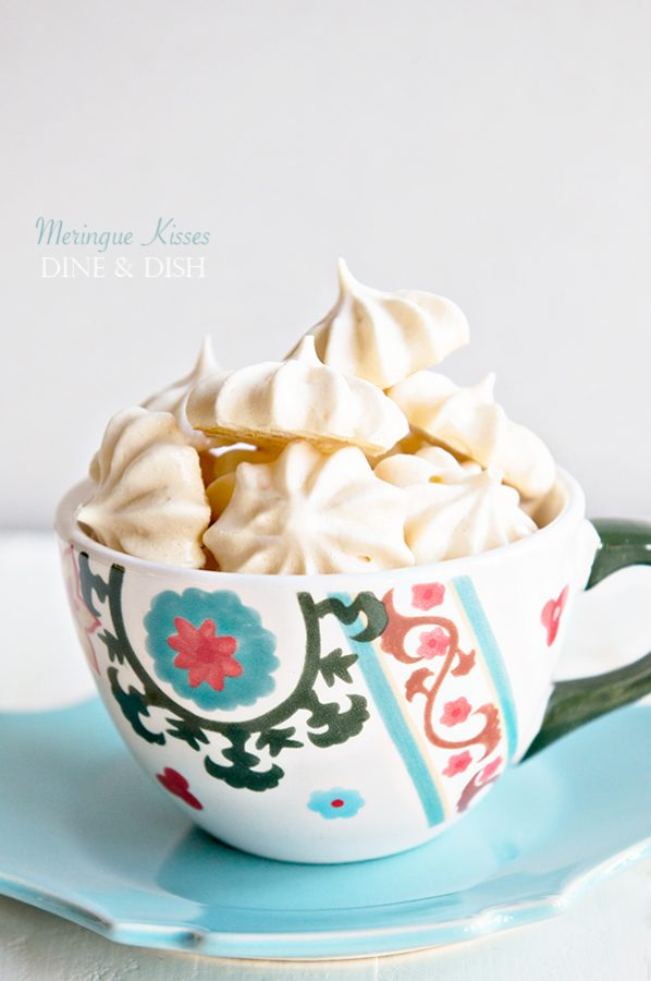 Meringue Kisses Recipe from dineanddish.net