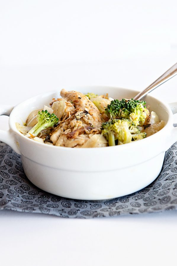 Healthy Dinner Recipe Rosemary Chicken and Broccoli