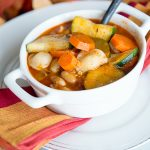 Vegetable Minestrone Recipe from dineanddish.net