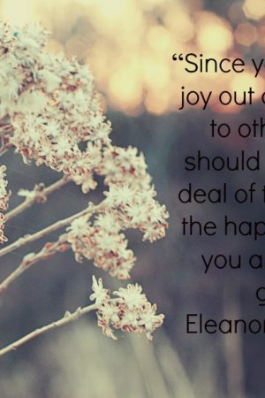 Happiness Quote – Thoughts for Today