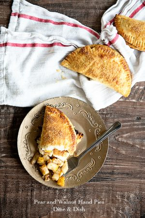 Pear and Walnut Hand Pies Recipe
