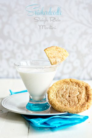 Snickerdoodle Sleigh Ride Martini Recipe