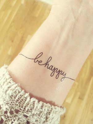 2015 Focus Words – Be Happy