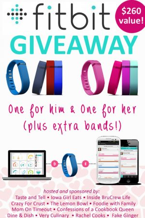 FitBit Giveaway Package