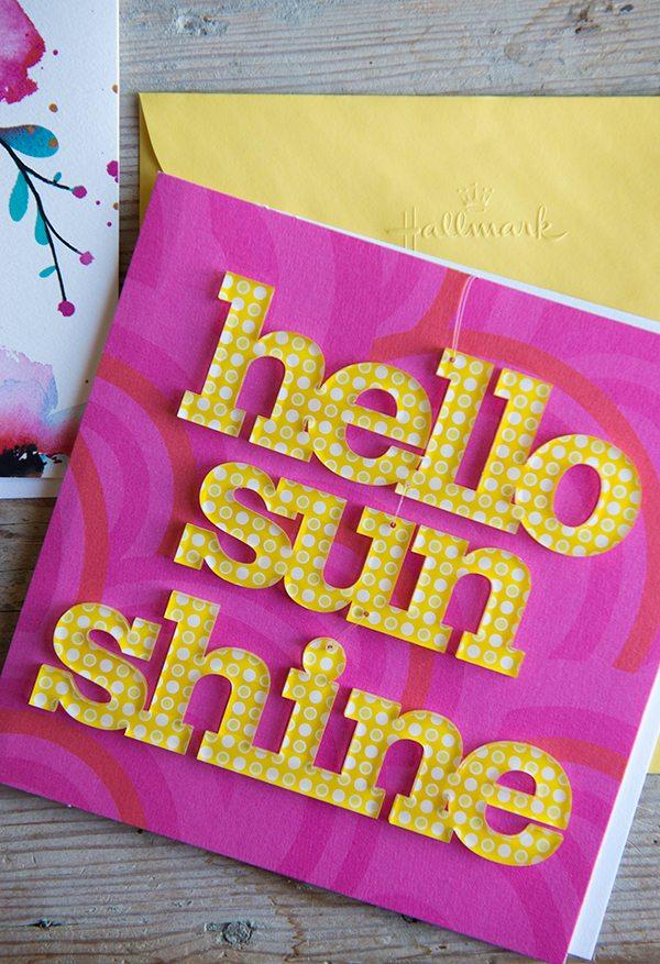 Hallmark Life is a Special Occasion Hello Sun Shine Card