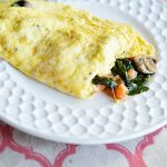 The Perfect Veggie Omelet Recipe on dineanddish.net Achieve omelet perfection with these how-to's
