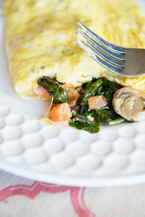 How to create a perfect omelet - tips and tricks for omelet perfection on dineanddish.net