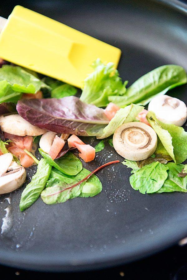 Veggie Omelet Recipe on dineanddish.net