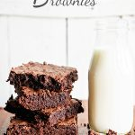 Skip the Mix Brownie Recipe from dineanddish.net