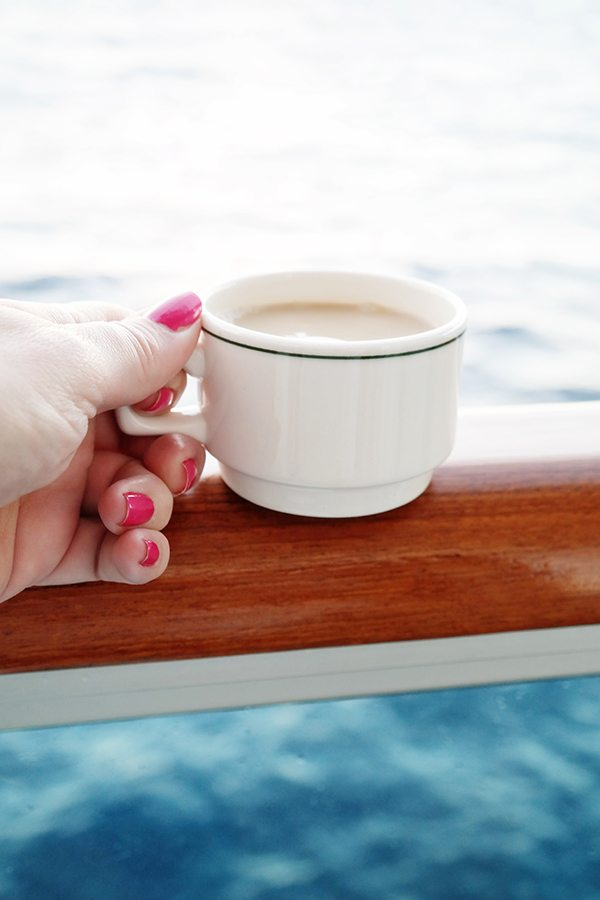 Coffee by the Ocean