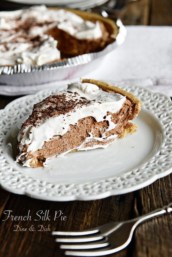 French Silk Pie Recipe on dineanddish.net
