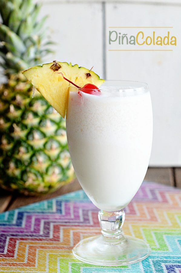 Come find the Perfect Pina Colada Recipe on dineanddish.net