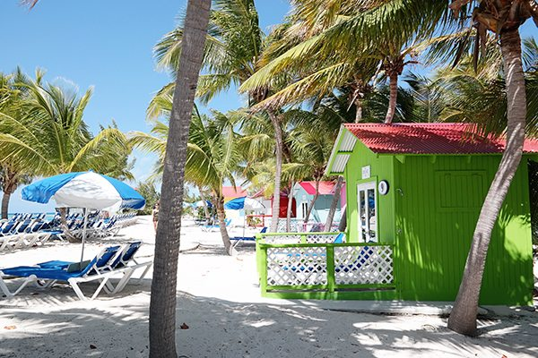 Princess Cays Island a private island for Princess Cruise Lines