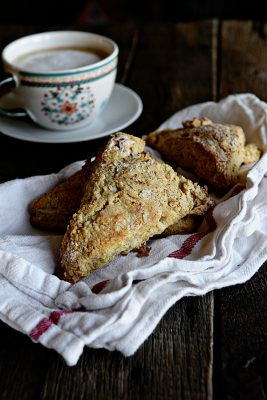 Cinnamon Sugar Maple Scone Recipe