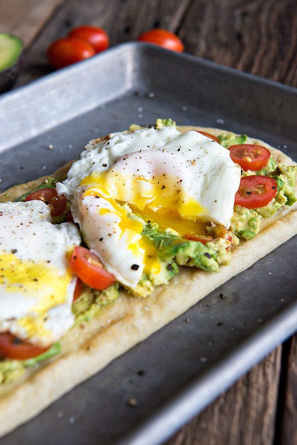 Egg and california avocado breakfast flatbread recipe dine and dish egg and avocado breakfast flatbread recipe forumfinder Gallery