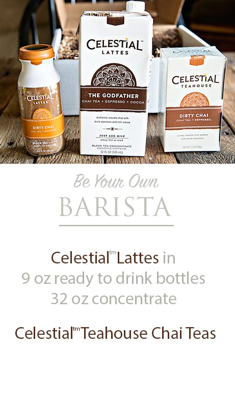 Celestial Lattes and Teahouse Chai