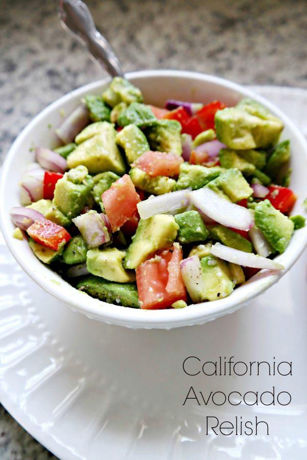 California Avocado Relish Recipe