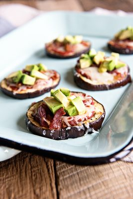 California Avocado Eggplant Pizza Recipe