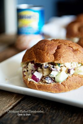 Chickpea Salad Sandwiches Recipe